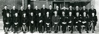 PS Ron Rowe front row 5th from right  N. Watford 1963 | Herts Police Historical Society