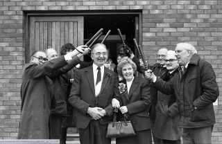 PS Ron Rowe on right | Herts Police Historical Society