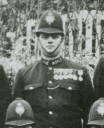 Thomas Copeman DCM, Serbian Cross of Karageorge Silver Medal