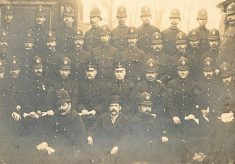 A Division Officers c. 1910