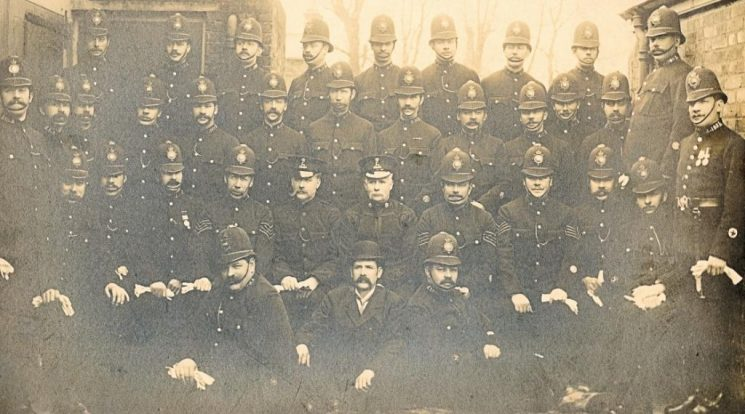 A Division Officers c. 1910 | Herts Police Historical Society