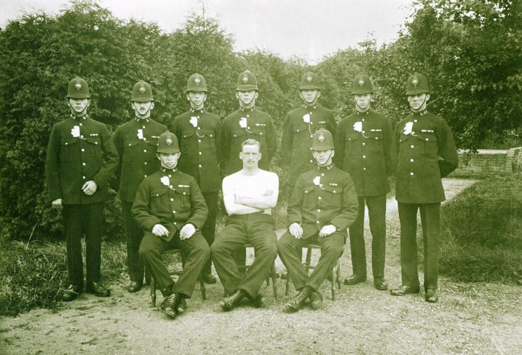 Classes 18 and 19 of 1920 | Herts Police Historical Society