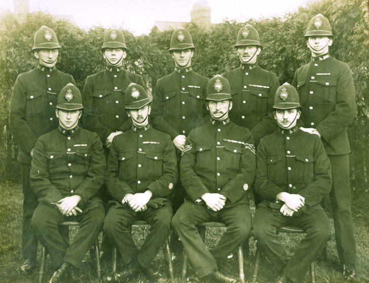 Class 24 of 1921 | Herts Police Historical Society
