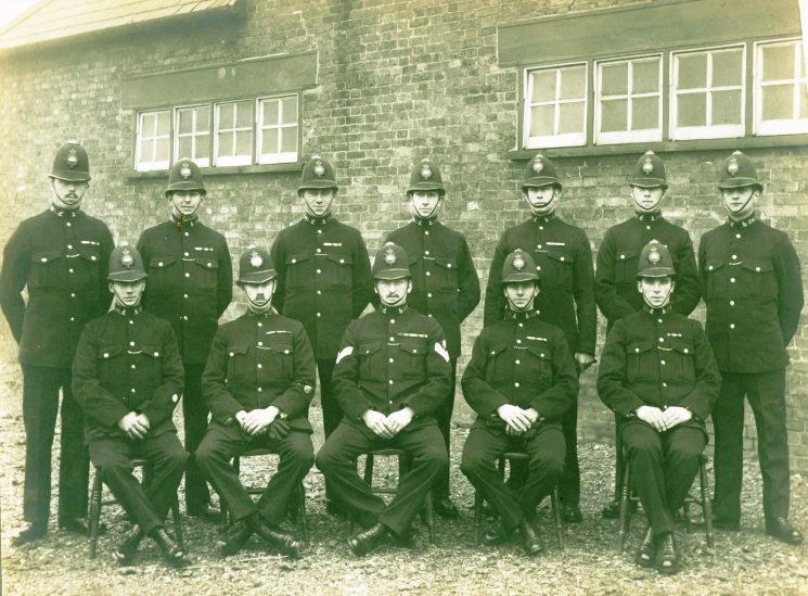 Class 23 of 1921 | Herts Police Historical Society