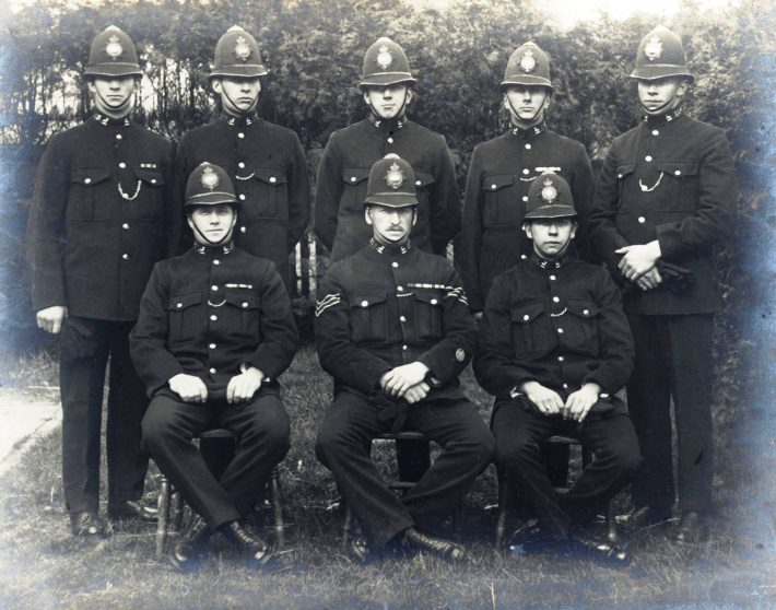 Class 25 of 1921 | Herts Police Historical Society