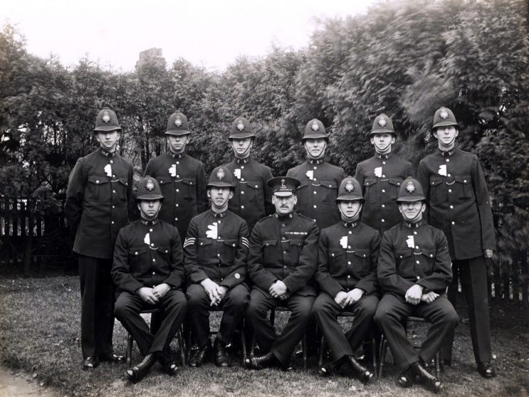Class 38 of 1927 | Herts Police Historical Society