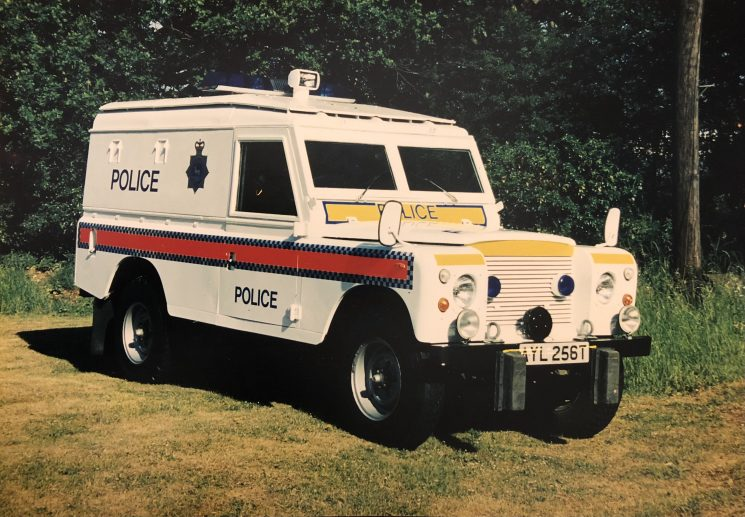 Armoured Land Rover - AYL256T