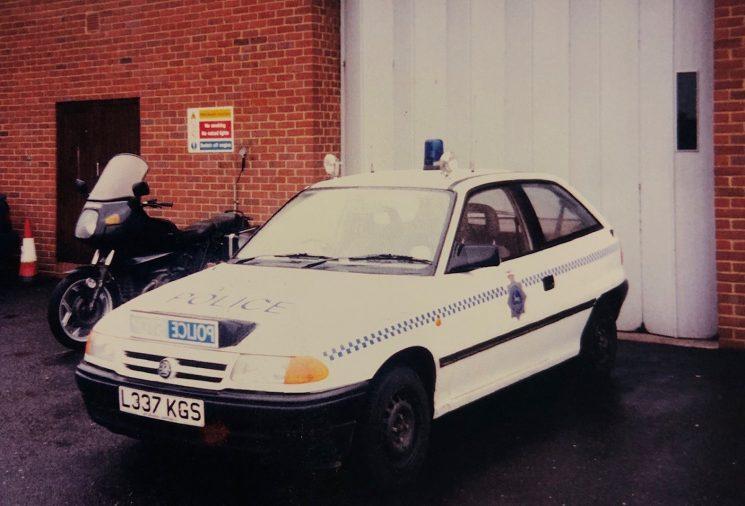 Vauxhall Astra L337KGS