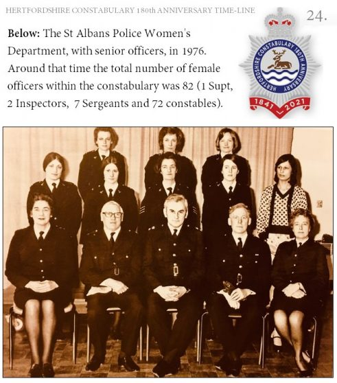 St Albans Women Police Department