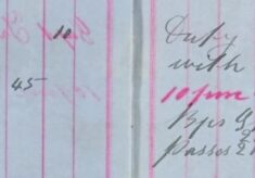 Conveyed prisoner Joseph Salmon to Cambridge Goal