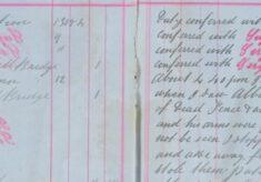 Confronted Albert Lilley regarding stolen fence wood and an axe