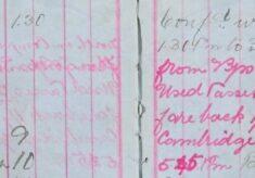 Conveyed prisoner Perry to Cambridge Gaol