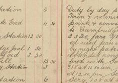 Conveyed George Eldred - handcuffed - to Cambridge Prison