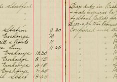 Assisted to obtain billets for eight men RE