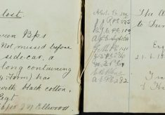 Army pay sheets lost Between Bishop's Stortford and Braintree property of 2/23rd London Regt