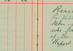 Received report from Thomas Savill Furneaux Pelham that a Shovel and Hoe were taken from his barrow,