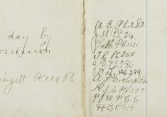 10/- Note found Sawbridgeworth