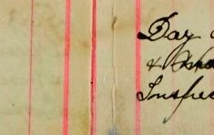 Inspected the sale books of Mr H O Lee, H Sparrow (continued)