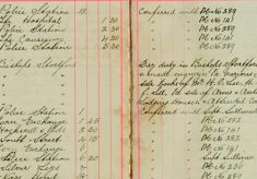 Inspected the sale books of Mr H O Lee, H Sparrow and F Handscombe J Sell re Sale of Arms and Ammunition