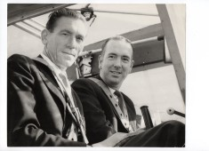 Frederick Halsey and Ken Green in the Sea Otter