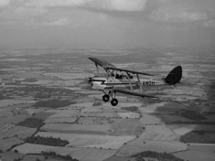 Tiger Moth G_ANOH in flight