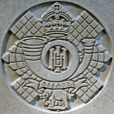Badge of the Highland Light Infantry