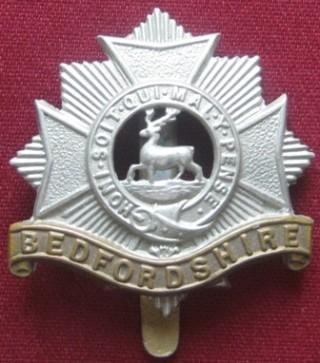 1st Bedforshire Regiment Badge