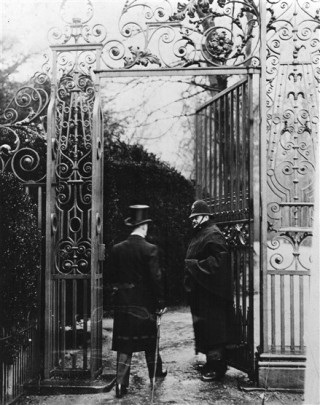Gate Duty at Tring Park