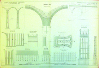 Digswell viaduct plan