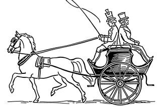 A dog cart
