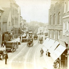 Police on duty, North Street, Bishops Stortford, 1912 | BISHM 577