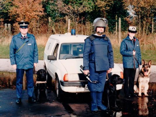 Hertfordshire Police Dog Officers