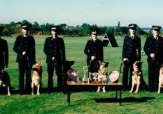 Hertfordshire Police dog trials