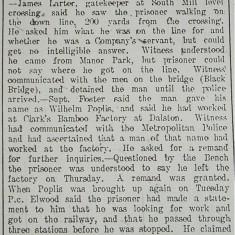 Suspected German Spy | Hertfordshire Mercury, 03 Oct 1914