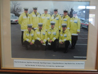 Traffic officers, North Watford