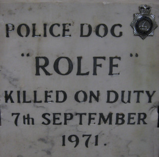 Murder of a police dog