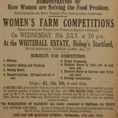Women at War Slide show | Herts & Essex Observer, Jul 1917