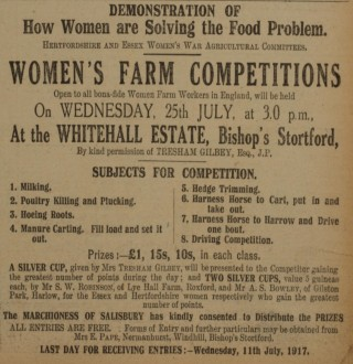 Working on the Land | Herts & Essex Observer, Jul 1917