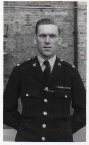Sergeant F. E. J. Halsey
